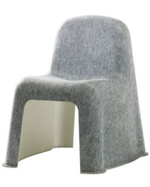 HAY - NOBODY Chaise design - Gris Clair