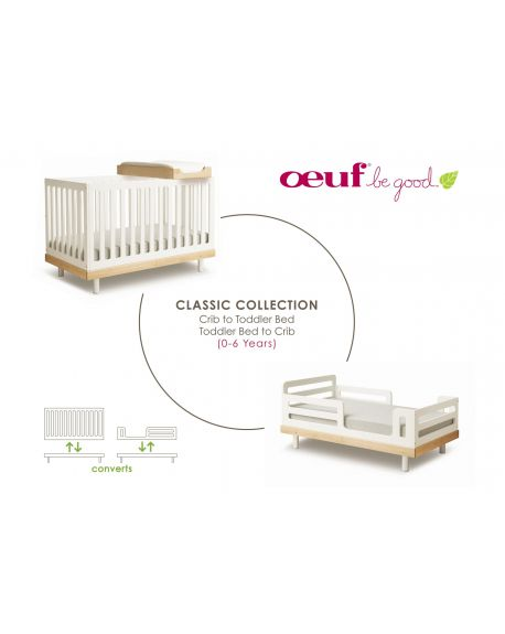 OEUF - CLASSIC Conversion kit for Classic cot