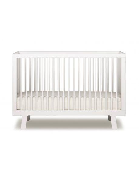 OEUF-SPARROW Lit bébé design évolutif-Blanc