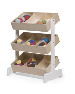 OEUF - TOY STORE design storage system - Birch
