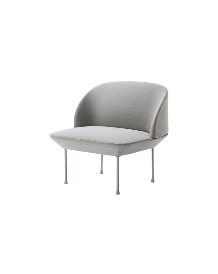 Chaise muuto finest chaise et lampadaire gris minimaliste for Chaise oslo but