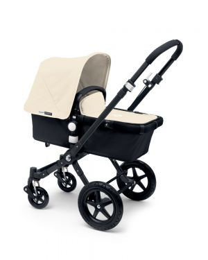 BUGABOO CAMELEON3 - Pram Black structure / Black base / Tailored fabric Classic