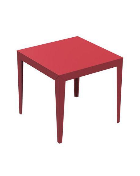 MATIERE GRISE - ZEF Table carrée design 80 x 80 cm