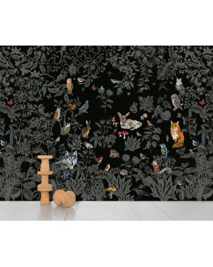 DOMESTIC - PANORAMIC WALLPAPER - Black Forest