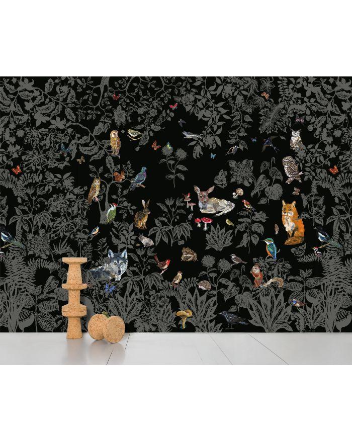 domestic papier peint panoramique. Black Bedroom Furniture Sets. Home Design Ideas