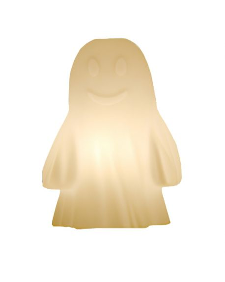 SLIDE DESIGN - RUDY THE GHOST - Table lamp White