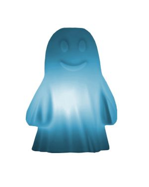 SLIDE DESIGN-RUDY LE FANTOME-Lampe de table Bleue