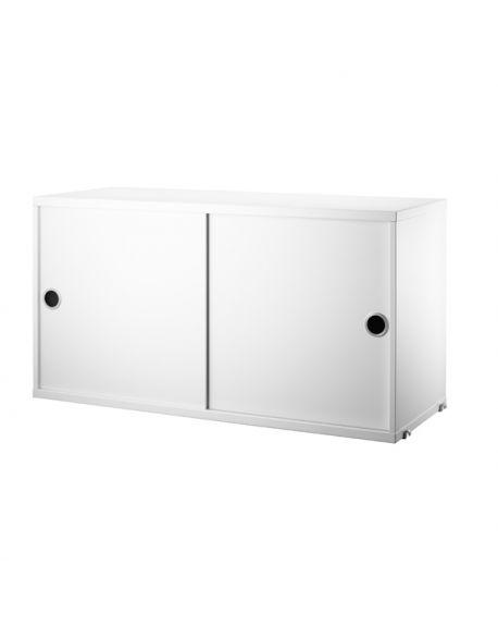 STRING - ELEMENT DE RANGEMENT - 2 Portes coulissantes 78 x 30 cm
