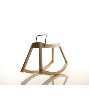 SIRCH - ROSA - Rocking horse with pure and design lines