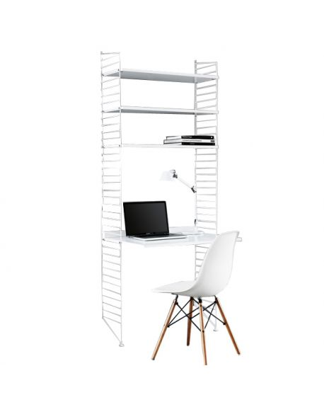 STRING - COMPOSITION 1 - Desk with white table