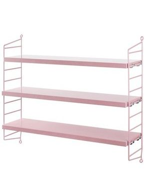 STRING POCKET - BOOKSHELF - Pink