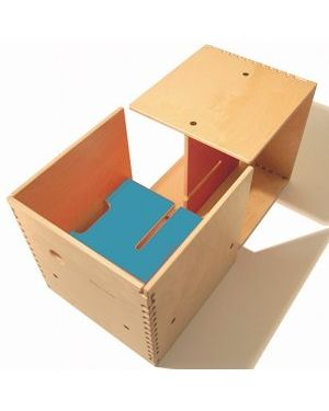 PERLUDI - MAX IN THE BOX - Multipurpose piece of furniture - Blue