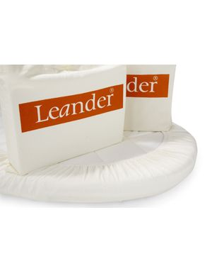 LEANDER - SET OF 2 FITTED SHEETS for cradle