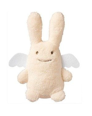 TROUSSELIER - SOFT RABBIT WITH ANGEL WINGS - Ivory 18 cm