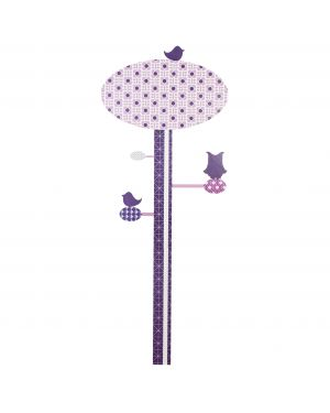 SEBRA - LILAC TREE WALL STICKER - Measuring sticker