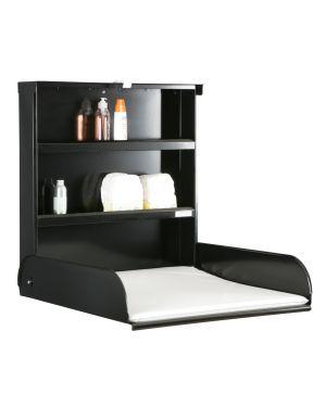 BYBO DESIGN - FIFI Nursing table in sheet metal - Black