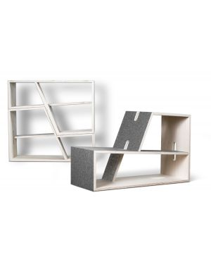 PERLUDI - PAULI - Seat or shelve for kids - 3 colours available