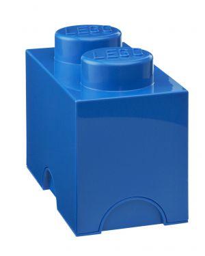 LEGO - BOITE DE RANGEMENT - 2 plots / bleu roi
