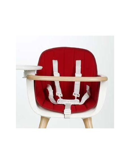 MICUNA-OVO Coussin pour chaise haute-Rouge