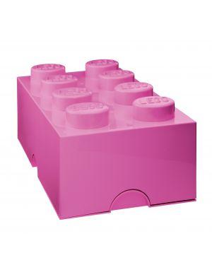 LEGO-BOITE DE RANGEMENT-8 plots / rose moyen