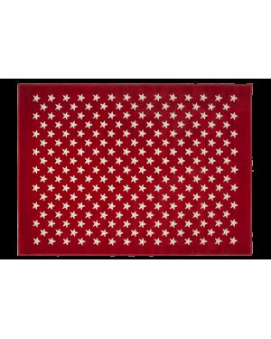 LORENA CANALS - PETITES ETOILES Tapis acrylique Rouge