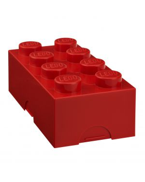 STORAGE BOX - LEGO - 8 studs/ Red
