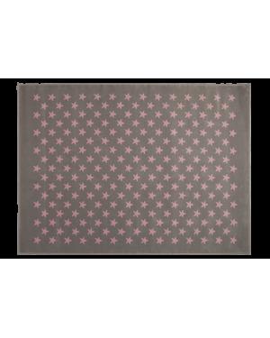 LORENA CANALS - PETITES ETOILES Tapis acrylique Gris / Rose