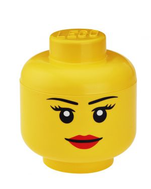 STORAGE BOX - LEGO - Girl head S
