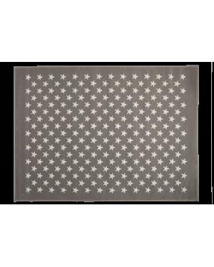 LORENA CANALS - PETITES ETOILES Tapis acrylique Gris / Crème