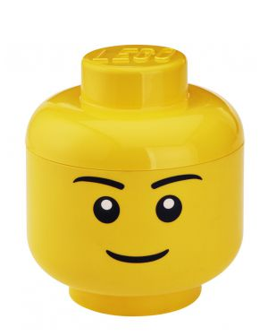 LEGO - BOITE DE RANGEMENT - Tête garçon S