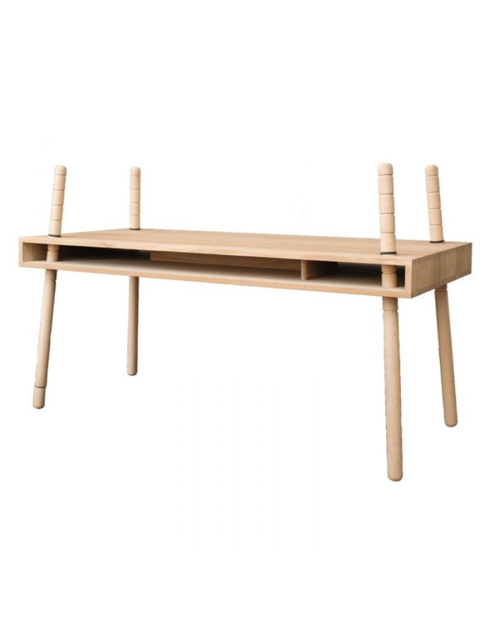 Perludi Caspar Oak Design Desk For Kids Loading Zoom