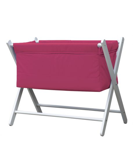 BOBO KIDS - LOUISE Design cradle White wood
