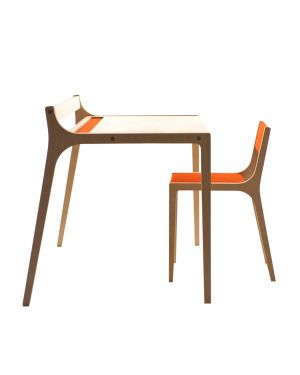 SIRCH - AFRA and SEPP Set of design desk for kids aged 2 to 8 years old and chair