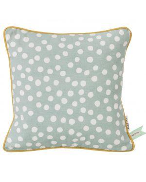 ferm LIVING - DOTS Cushion - Dusty Blue