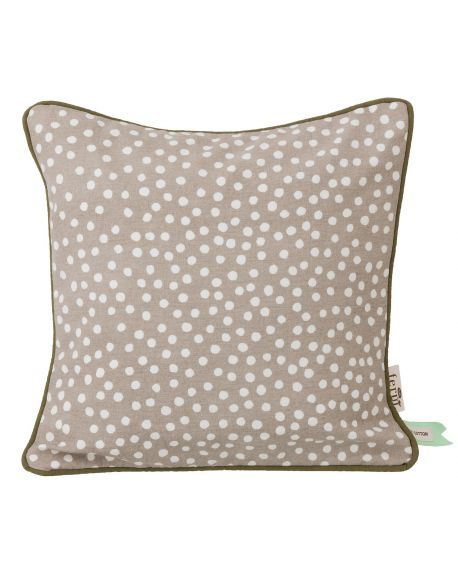 ferm LIVING - Dots Cushion - Grey