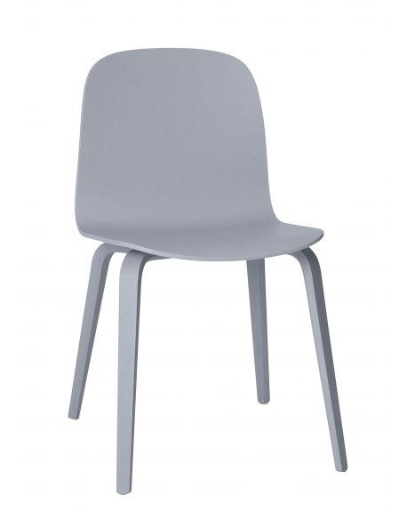 MUUTO - VISU Chaise design scandinave - Bois