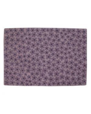 LORENA CANALS - FLEURS - RUG IN WOOL - Purple 140 x 200 cm