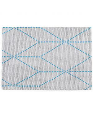 HAY - DOT CARPET BIG BLUE - Tapis boules de laine - 170 x 120 cm