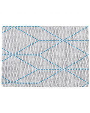HAY - DOT CARPET BIG BLUE - Tapis boules de laine 3 dimensions