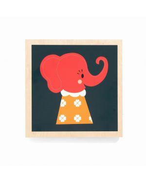 FERM LIVING - ELLE ELEPHANT - Wooden frame