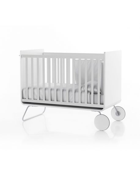 BE - Be COT - Convertible baby bed (into desk) with sliding bars