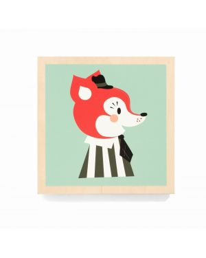 FERM LIVING - Mr. FRANK FOX - Wooden frame