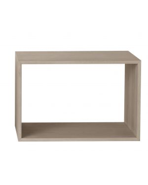 MUUTO STACKED -Shelving Unit/L without backboard