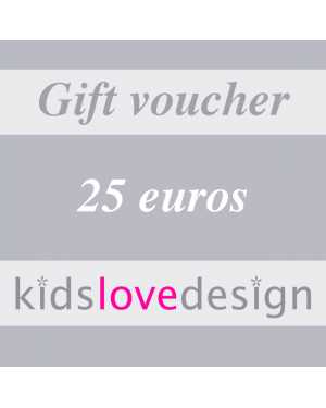 ELECTRONIC GIFT VOUCHER - 25 euros