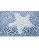 LORENA CANALS-Tapis lavable rond / étoiles - daim.140 cm