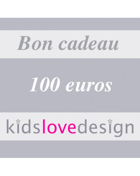 CHEQUE CADEAU ELECTRONIQUE - 100 euros