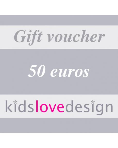 ELECTRONIC GIFT VOUCHER - 50 euros