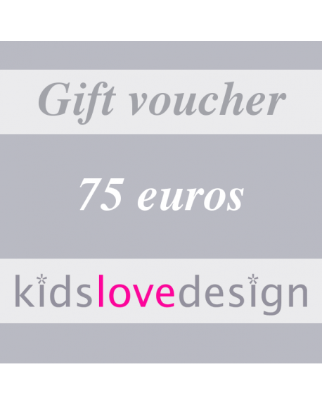 ELECTRONIC GIFT VOUCHER - 75 euros