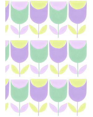 INKE - XL WALL PAPER 200 x 300 cm/ Tulips