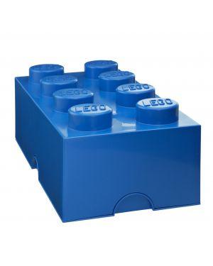 LEGO-BOITE DE RANGEMENT-8 plots / Bleu roi